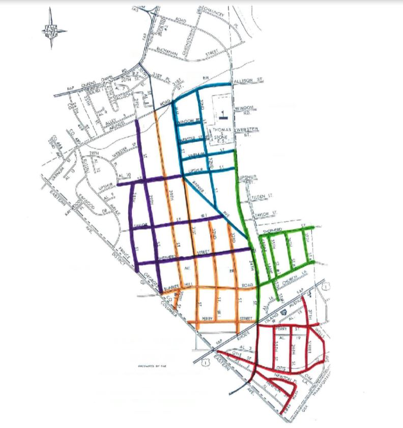 curbside map
