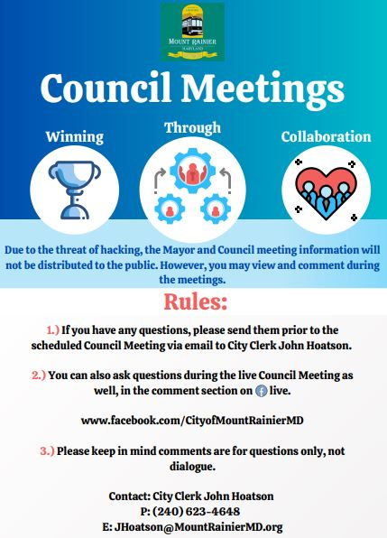 council meeting rules